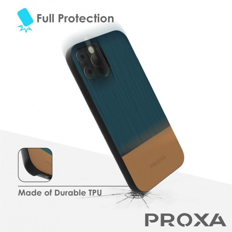 Proxa Car Charger MagSafe Case for IPhone 12 / 12 Pro (Pacific Blue)