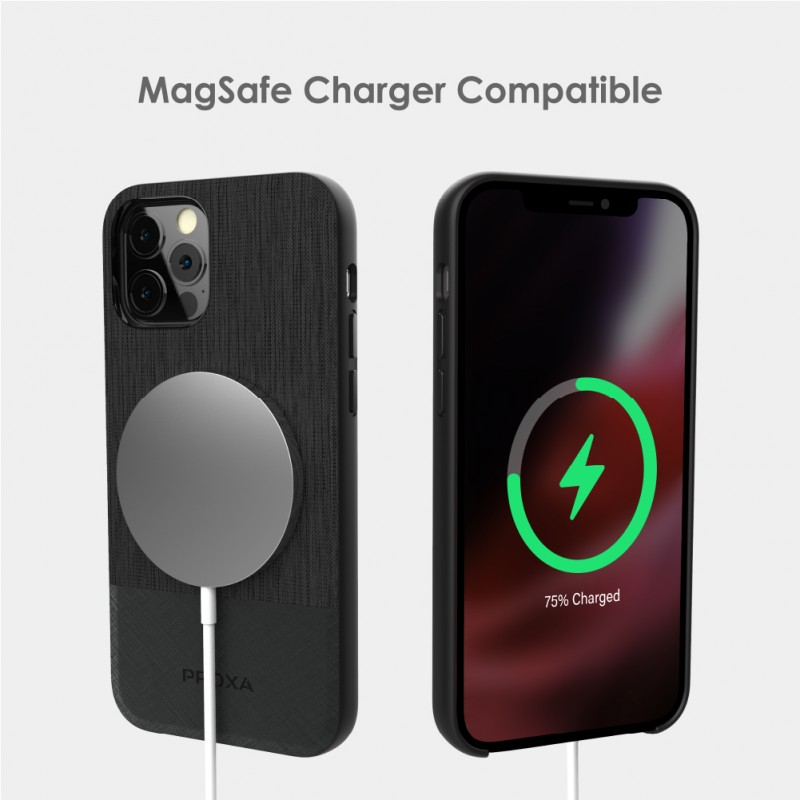 Magnetic Wireless Car Charger Mount With iPhone 12 / 12 Max Case