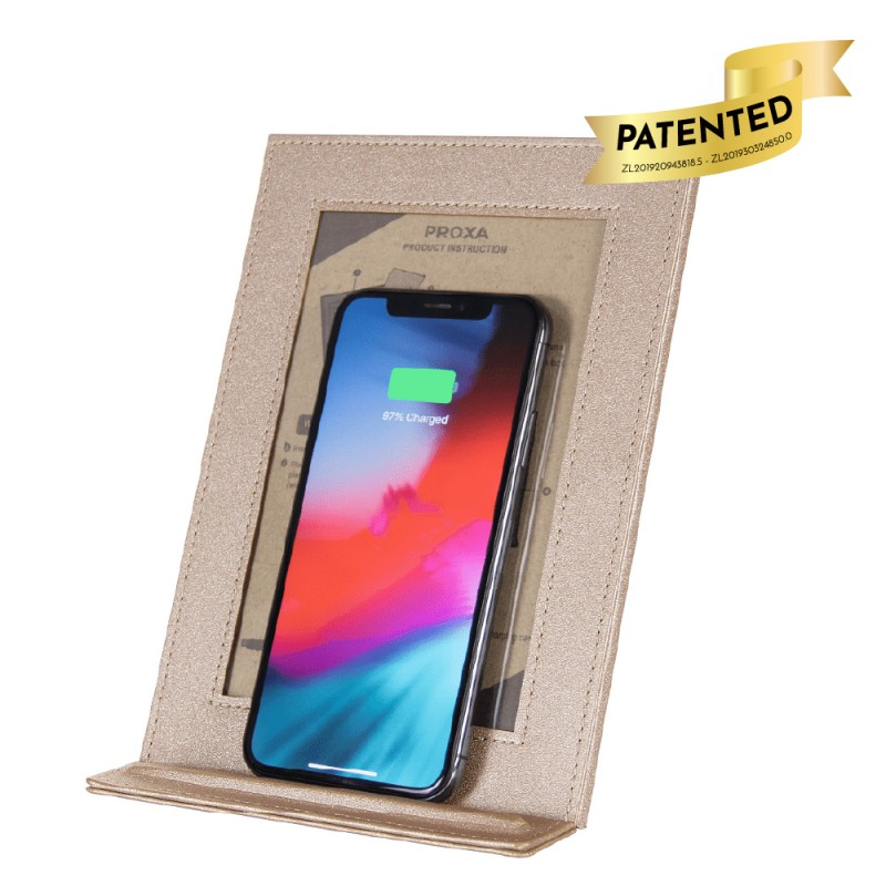 Wireless Charger Photo Frame (Rose Gold)
