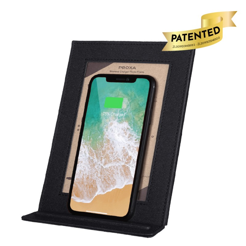 Wireless Charger Photo Frame (Classic Black)